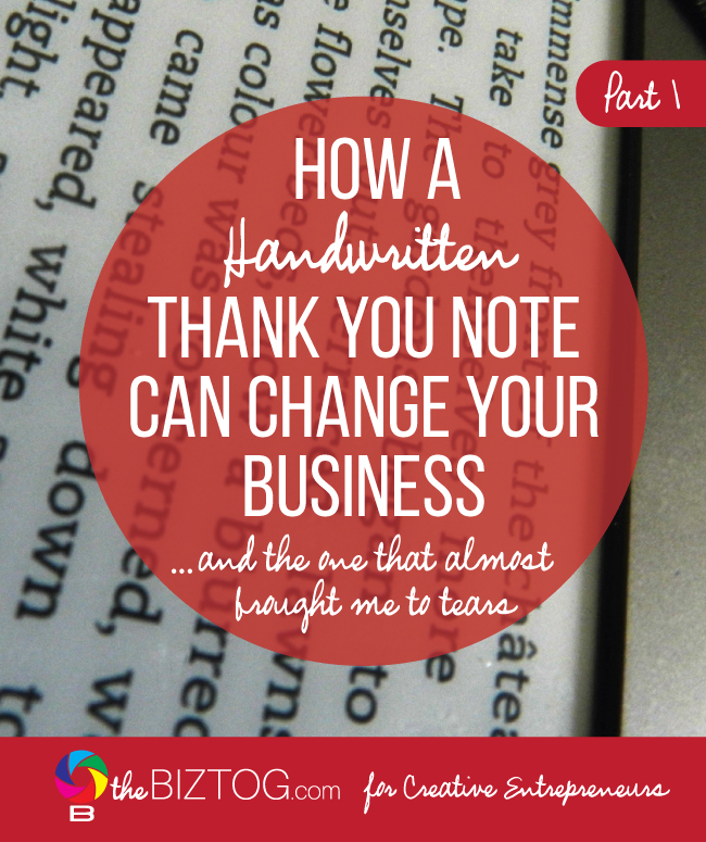 Using Handwritten Thank You Notes in Your Business