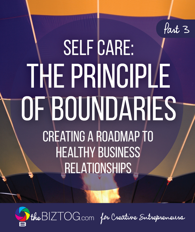 Self Care for Entrepreneurs: The Principle of Boundaries